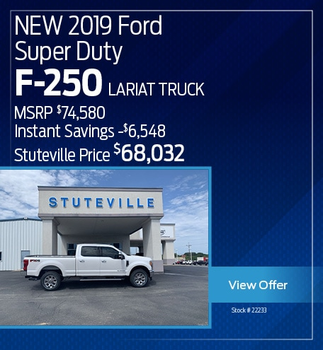 NEW 2019 Ford F-250 Super Duty Lariat Truck