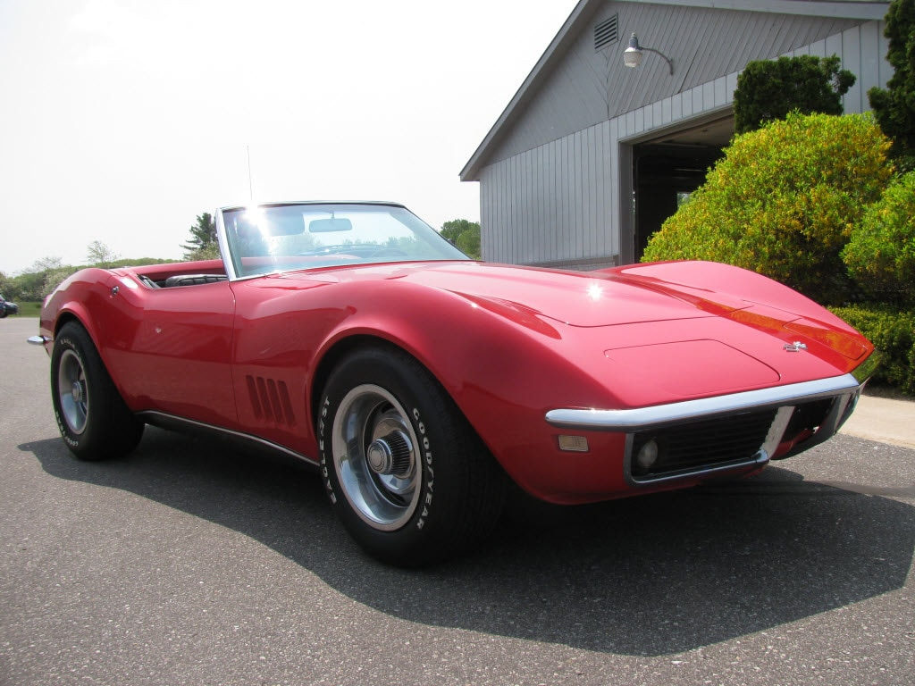 1968 Chevrolet Corvette Convetable With Hard Top