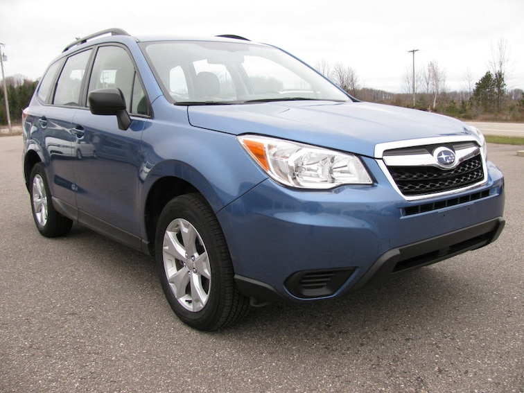 Used 2016 Subaru Forester 2.5i AWD 2.5i  Wagon CVT in Bay Shore MI