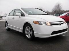 Used 2006 Honda Civic EX EX  Sedan w/Automatic 1HGFA16856L093987 in Bay Shore, MI