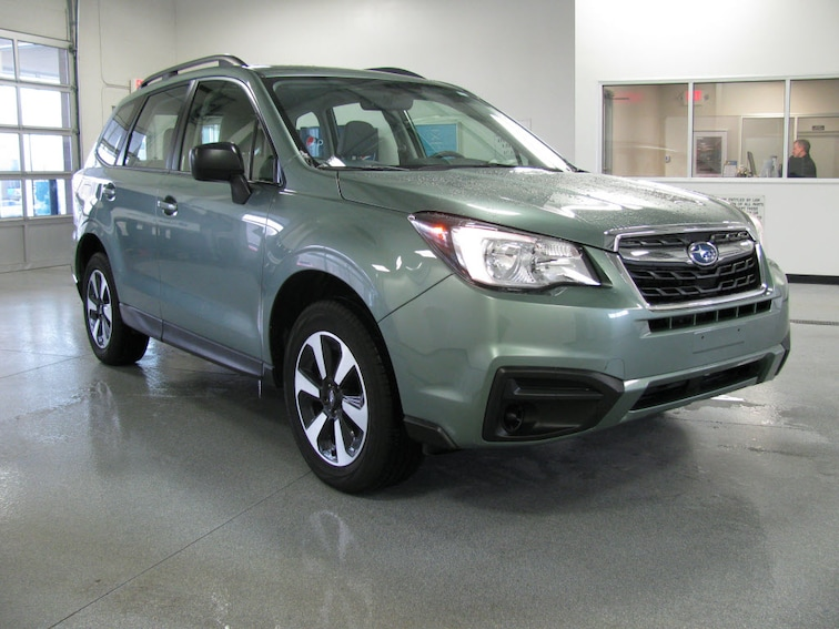 Used 2018 Subaru Forester 2.5i AWD 2.5i  Wagon CVT in Bay Shore MI
