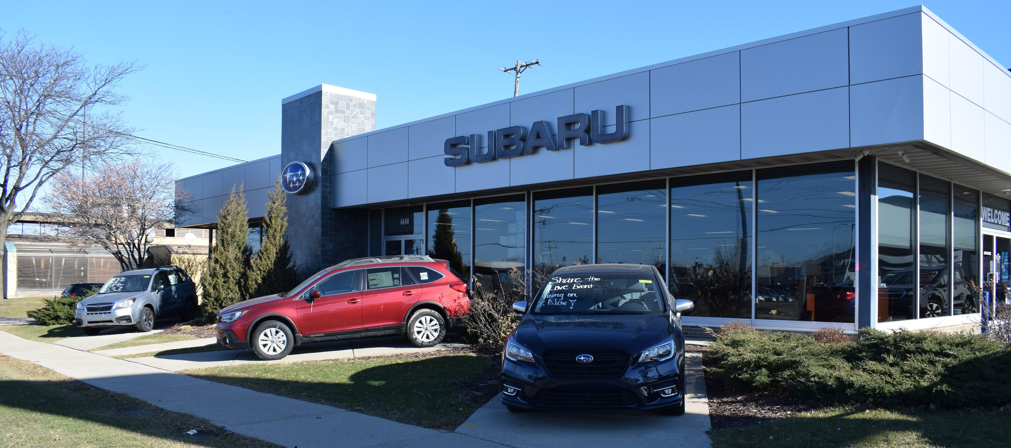 Schlossmann Subaru City | New & Used Cars in Milwaukee | Serving