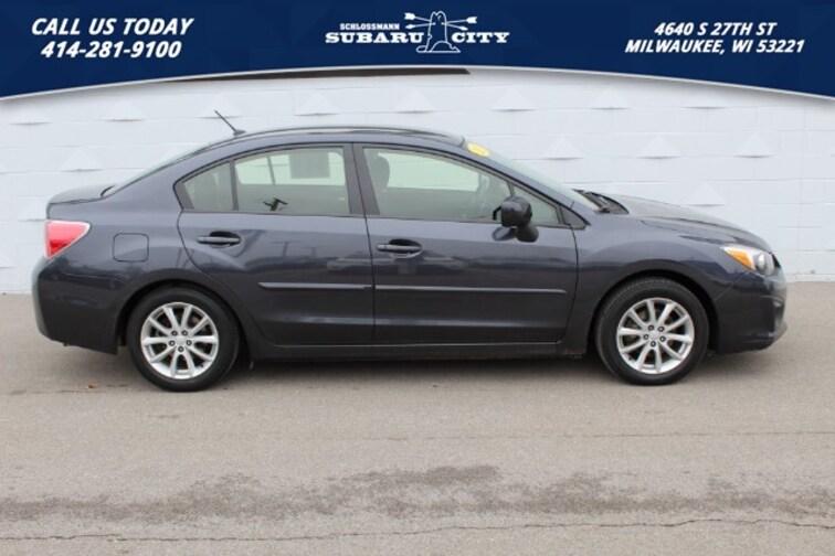 used 2013 Subaru Impreza Premium Sedan in milwaukee wi