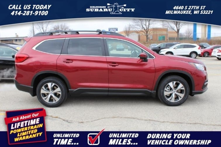 new 2019 Subaru Ascent Premium 8-Passenger SUV in Milwaukee WI