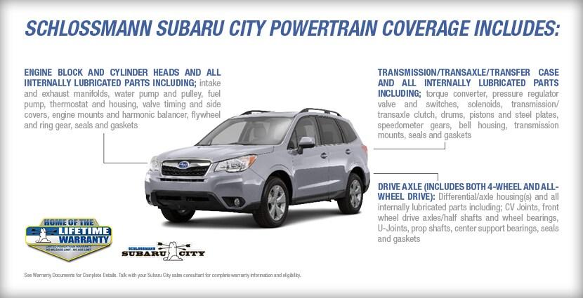 Subaru Lifetime Warranty Program | Milwaukee, WI | Schlossmann