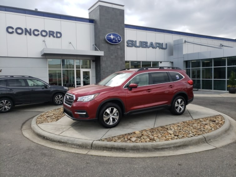 New 2019 Subaru Ascent Premium 8-Passenger SUV for sale in Concord, NC at Subaru Concord - Near Charlotte NC