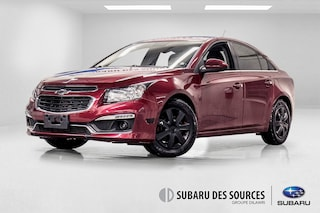 2015 Chevrolet Cruze 1LT Turbo Manuel En Approbation de credit Sedan