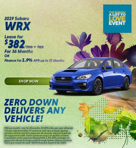 March 2019 Subaru WRX