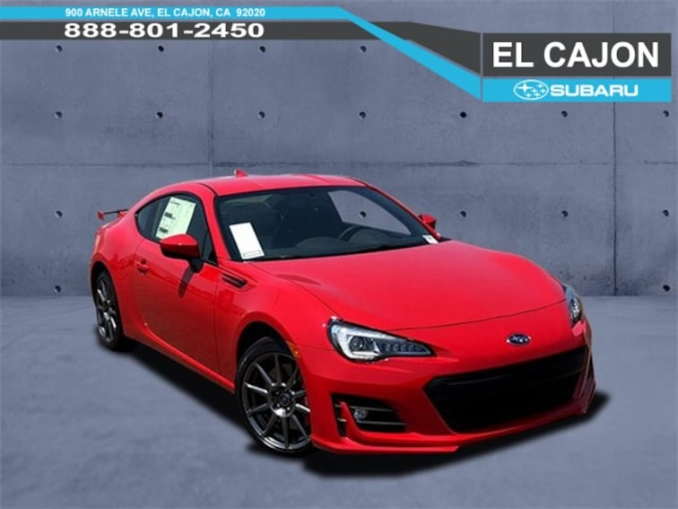 New 2018 Subaru BRZ Limited with Performance Package Coupe near San Diego, CA
