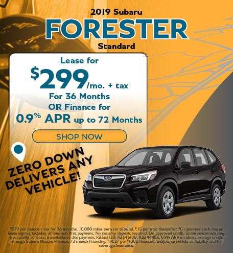 June 2019 Forester Special