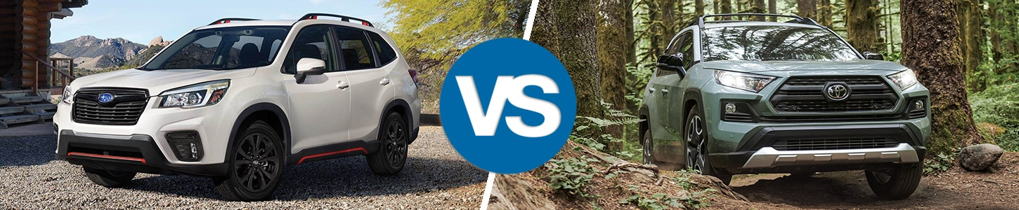 2019 Subaru Forester Comparison