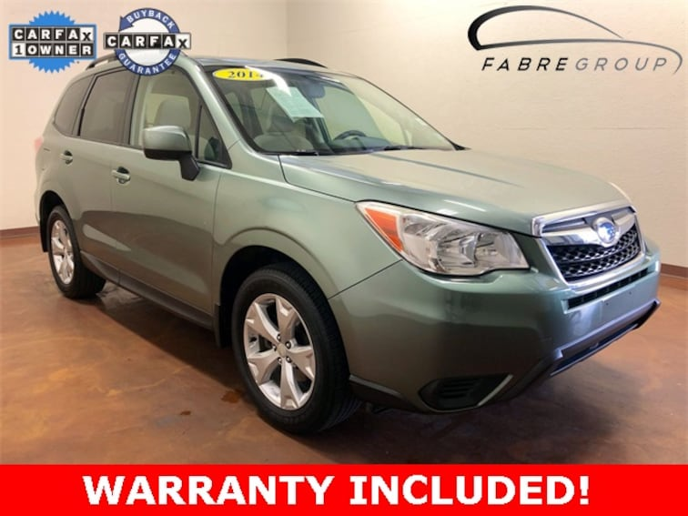 Used 2014 Subaru Forester 2.5i Premium SUV for sale in Baton Rouge