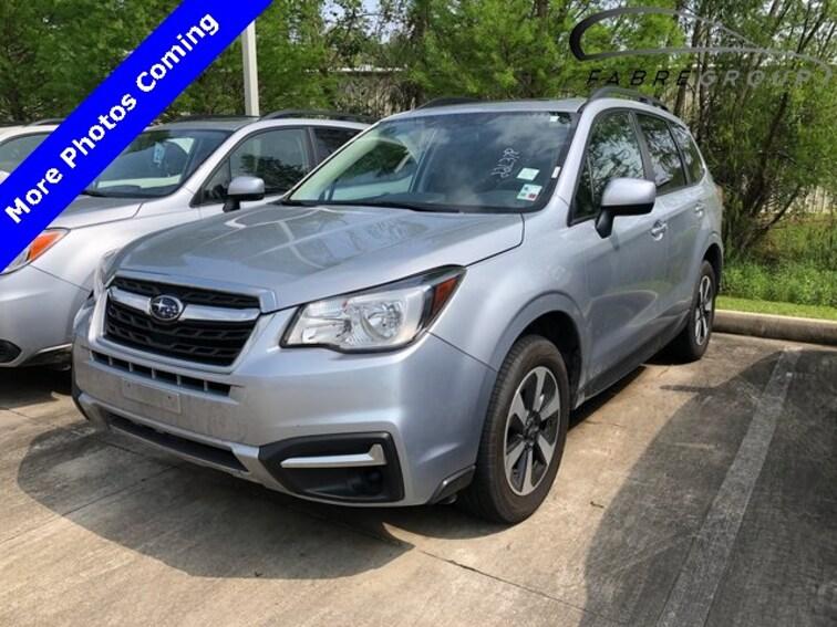 Used 2018 Subaru Forester 2.5i Premium SUV for sale in Baton Rouge