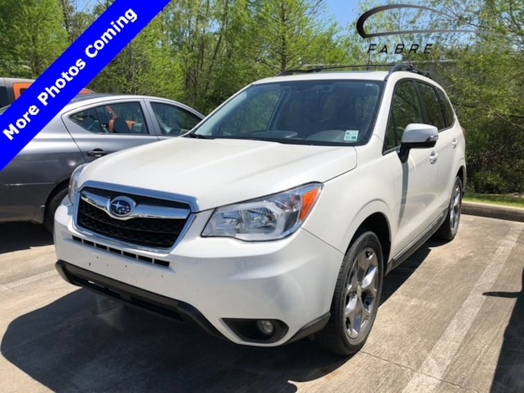 Used 2016 Subaru Forester 2.5i Touring SUV for sale in Baton Rouge
