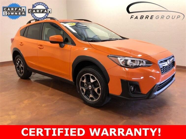 certified used 2018 Subaru Crosstrek 2.0i Premium SUV in baton rouge la