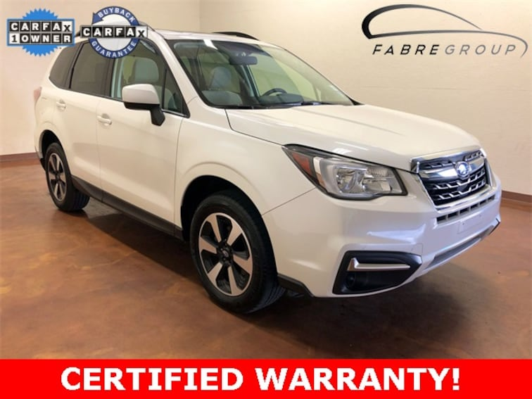 certified used 2018 Subaru Forester 2.5i Premium SUV in baton rouge la