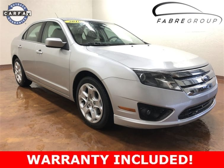 Used 2010 Ford Fusion SE Sedan for sale in Baton Rouge