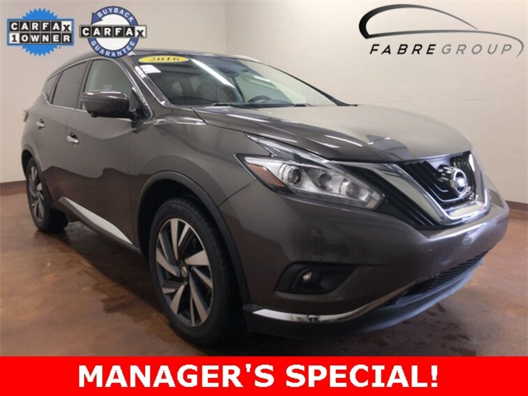 Used 2016 Nissan Murano Platinum SUV for sale in Baton Rouge