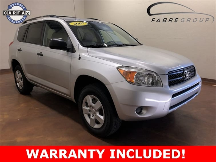 Used 2007 Toyota RAV4 Base SUV for sale in Baton Rouge