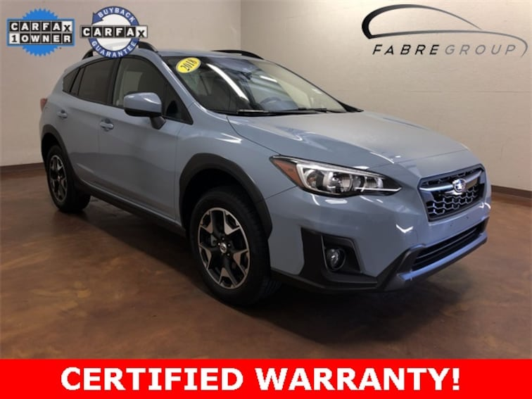 Used 2018 Subaru Crosstrek 2.0i Premium SUV for sale in Baton Rouge