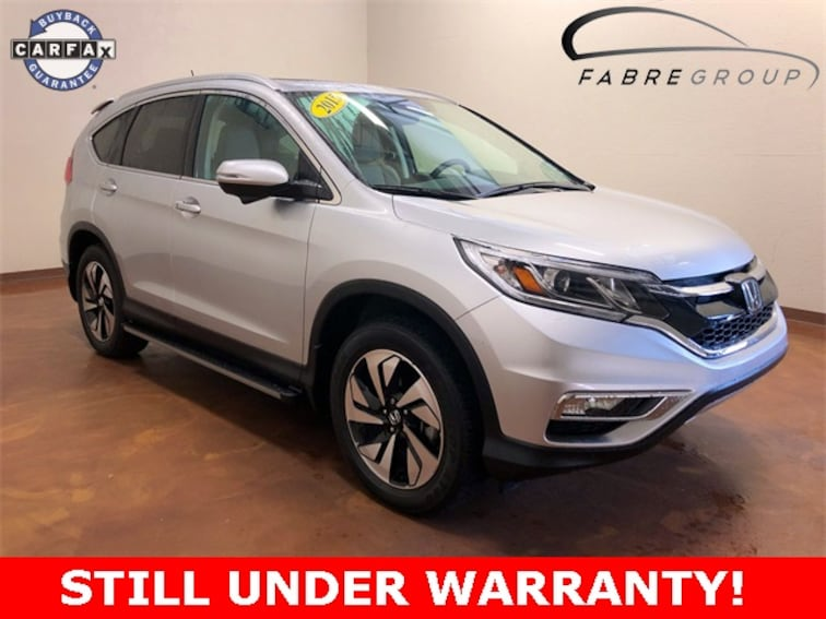 Used 2015 Honda CR-V Touring SUV for sale in Baton Rouge