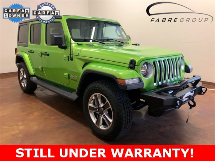 Used 2018 Jeep Wrangler Unlimited Sahara SUV for sale in Baton Rouge