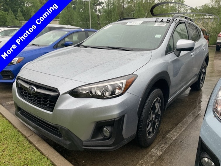 certified used 2018 Subaru Crosstrek 2.0i Premium SUV in baton rouge la