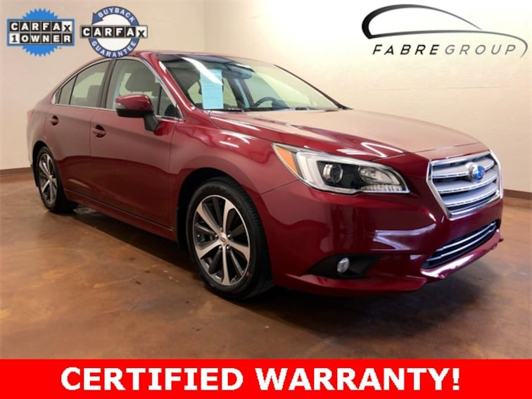 certified used 2015 Subaru Legacy 2.5i Sedan in baton rouge la