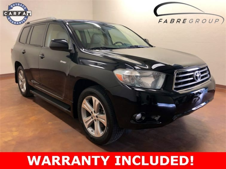 Used 2010 Toyota Highlander Sport SUV for sale in Baton Rouge