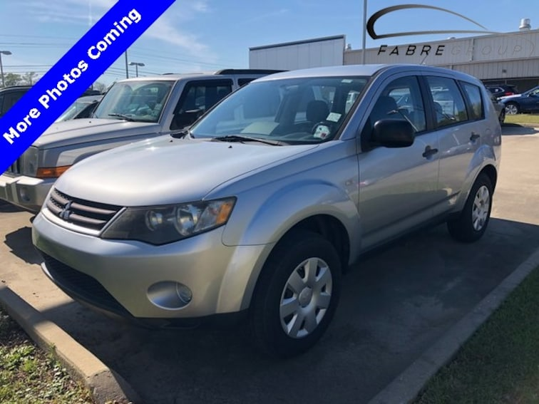 Used 2008 Mitsubishi Outlander ES SUV for sale in Baton Rouge