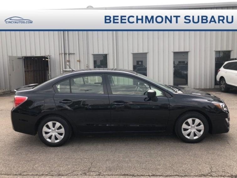 Used  2016 Subaru Impreza 2.0i Sedan near Cincinnati, OH