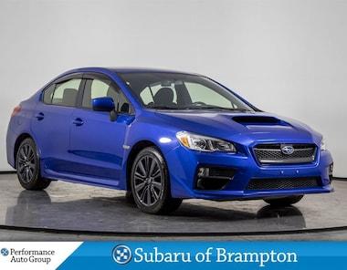 2016 Subaru WRX BASE. CAMERA. BLUETOOTH. HTD SEATS. AWD Sedan