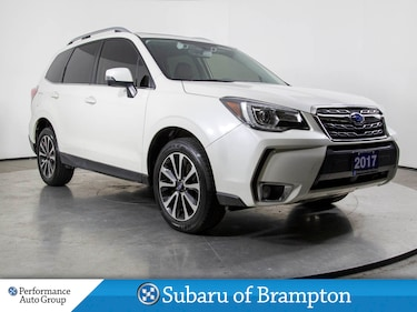 2017 Subaru Forester 2.0XT LIMITED. LEATHER. NAVI. HTD SEATS. CAMERA SUV