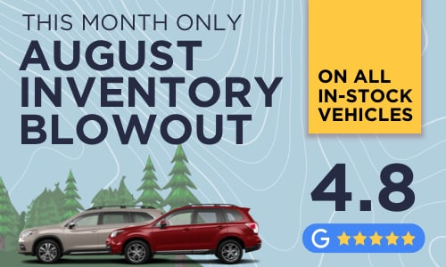 Inventory Clear-out at Subaru of Brampton