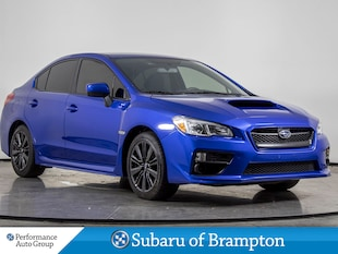 2016 Subaru WRX CAMERA. HTD SEATS. ALLOYS. BLUETOOTH. SAT RADIO Sedan