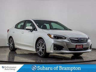 2017 Subaru Impreza Sport. Manual. CAMERA. ROOF. BLUETOOTH. HTD SEATS Sedan