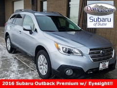 Certified Pre-Owned 2016 Subaru Outback 2.5i SUV 18S083A in Butte, MT