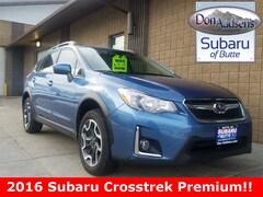 Certified Pre-Owned 2016 Subaru Crosstrek 2.0i Premium SUV 17B038 in Butte, MT