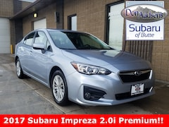 Certified Pre-Owned 2017 Subaru Impreza 2.0i Premium Sedan 17S135 in Butte, MT