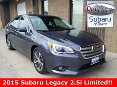 Certified Pre-Owned 2015 Subaru Legacy 2.5i Sedan 18S051A in Butte, MT