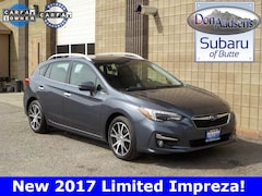 Certified Pre-Owned 2017 Subaru Impreza 2.0i Limited Hatchback 17S222A in Butte, MT