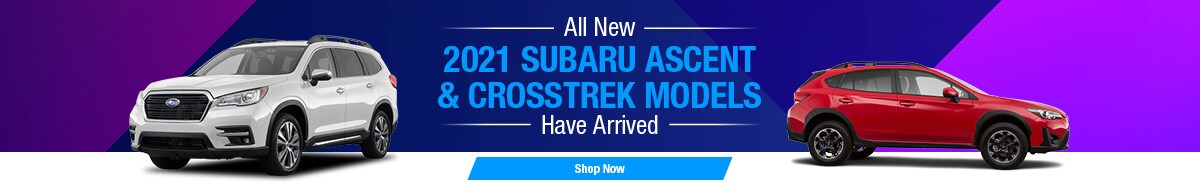 2021 Crosstrek & Ascent Models Have Arrived