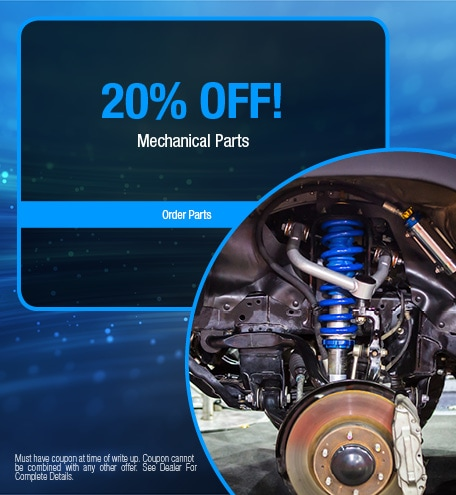 20% OFF Mechanical Parts