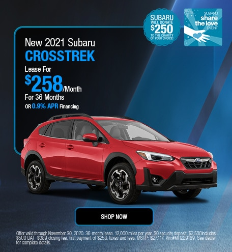 2021 Subaru Crosstrek November STL