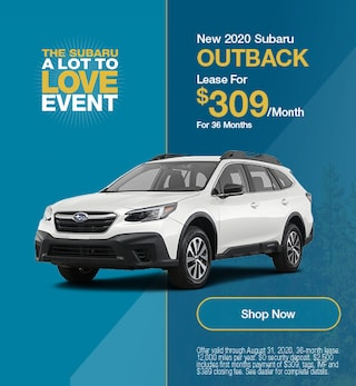 August - 2020 Subaru Outback