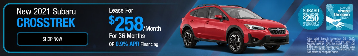 2021 Subaru Crosstrek November STL