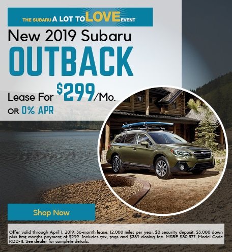 Nw 2019 Subaru Outback