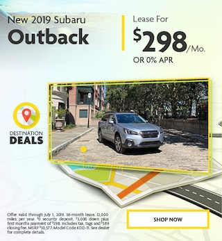 New 2019 Subaru Outback - June Special