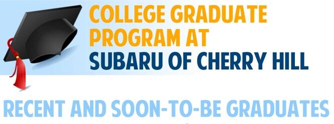 New Vehicle Specials At Subaru Of Cherry Hill Serving - Subaru graduate program