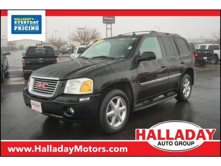 Used 2008 GMC Envoy SLT SUV for sale in Cheyenne, WY at Halladay Subaru